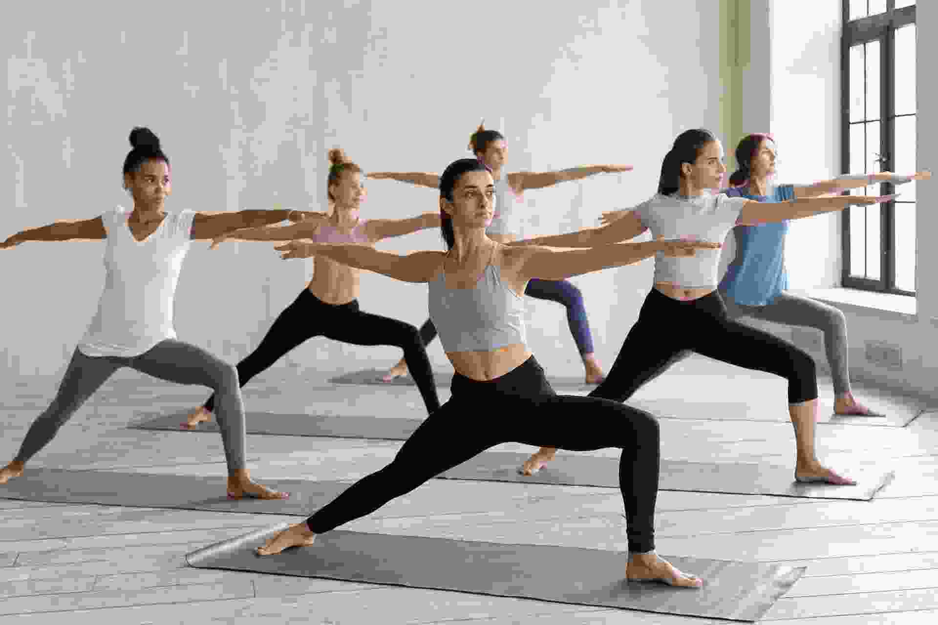 Yoga and fitness